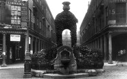 Bath, Mineral Water Fountain 1909