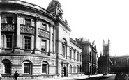 Bath, Municipal Buildings And Abbey 1896
