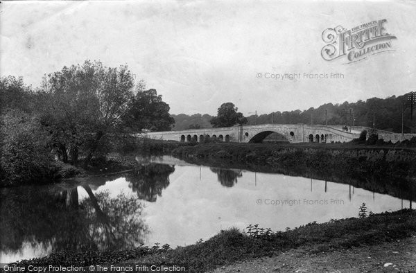 Bath, Newton Bridge 1907