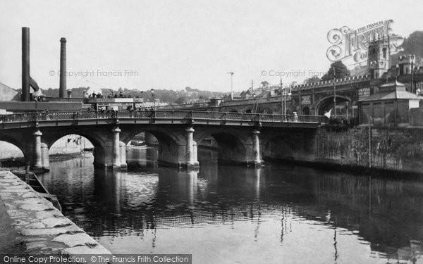 Bath, Old Bridge 1904