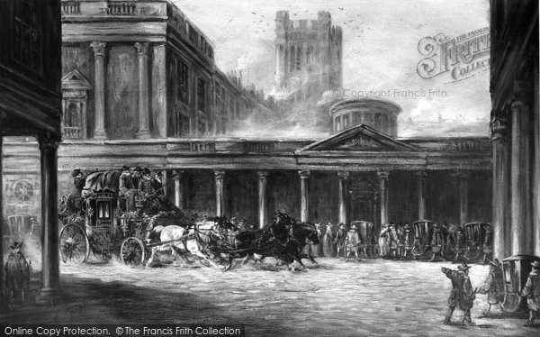 Bath, Picture In The Baths 1903
