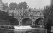 Bath, Pulteney Bridge 1895