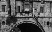 Bath, Pulteney Bridge 1901