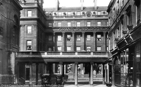 Bath, Pump Room Hotel 1896