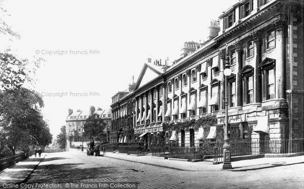 Bath, Queen Square 1901