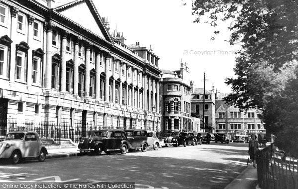 Bath, Queen Square c.1950