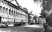 Bath, Queen Square c.1950