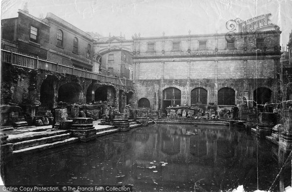 Bath, Roman Baths 1890