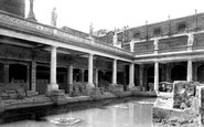 Bath, Roman Baths 1897