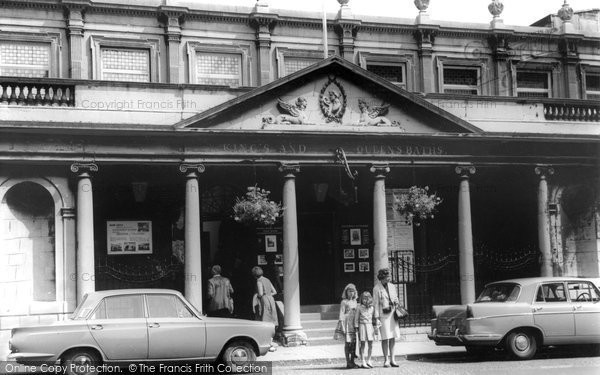 Bath, Royal Baths Entrance c.1965