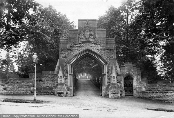 Bath, Royal School Entrance 1907