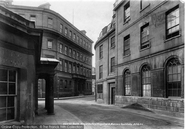 Bath, Royal United Hospital And Nurses Institution 1901