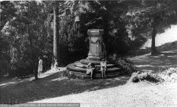 Bath, Shakespeare's Memorial c.1965