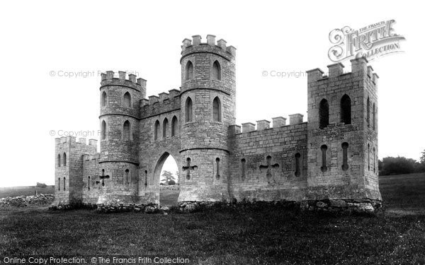 Bath, Sham Castle 1907
