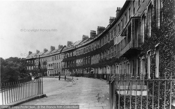 Bath, Somerset Place 1907