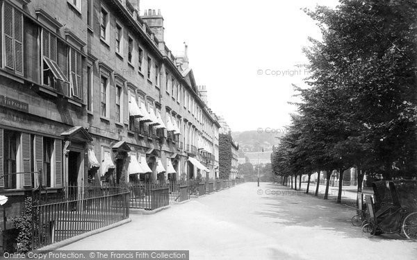 Bath, South Parade 1895