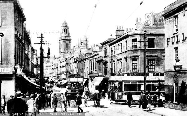 Photo of Bath, Southgate Street 1904