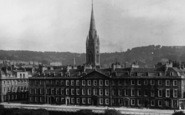 Bath, St John's Church From Empire Hotel 1907