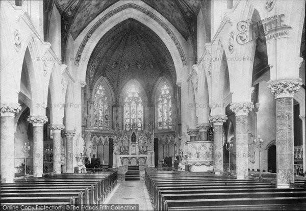 Bath, St John's Church Interior 1902