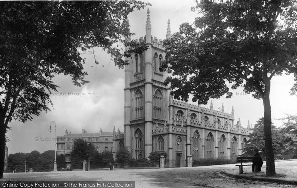 Bath, St Mary's Church 1902