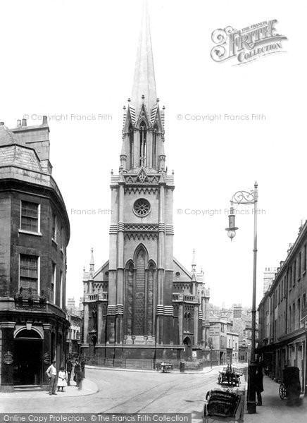 Bath, St Michael's Church 1895