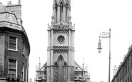 Bath, St Michael's Church 1895