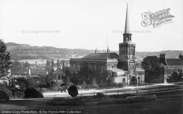 Photo of Bath, St Swithin's Church 1902