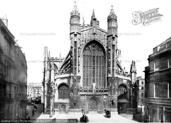 Bath, The Abbey 1887