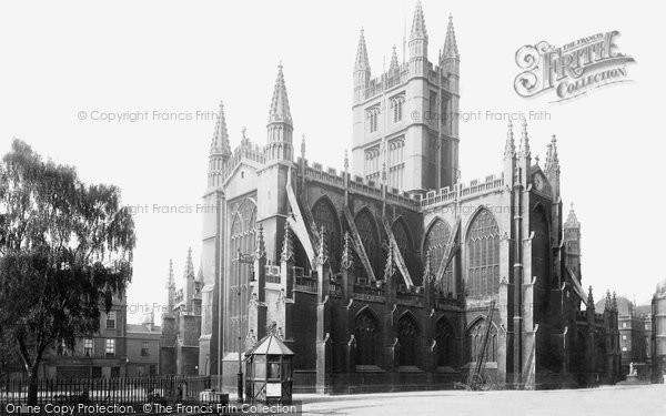 Bath, The Abbey 1896