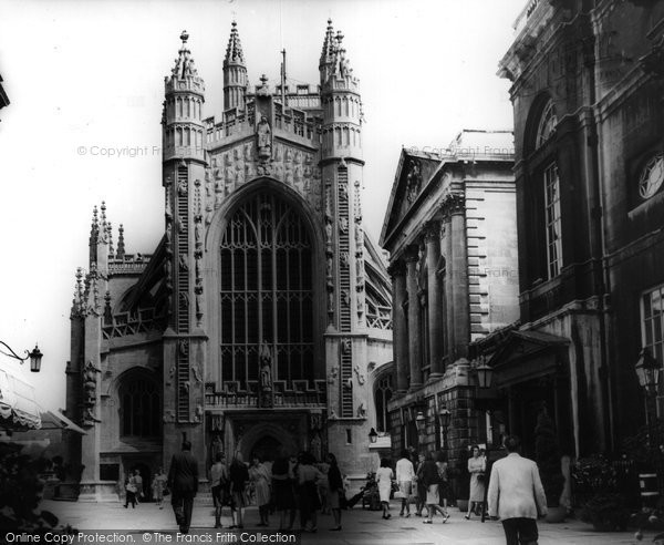 Bath, The Abbey c.1955