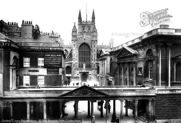 Bath, The Colonnade 1901