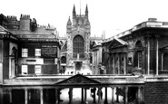 Bath, The Colonnade 1901
