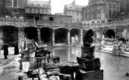 Bath, The Roman Baths 1890