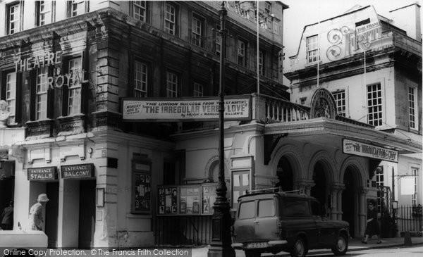Bath, The Theatre Royal c.1955