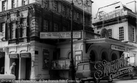 Bath, Theatre Royal c.1965