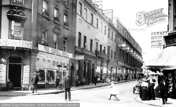 Bath, Union Street 1914