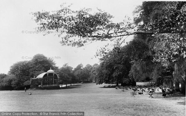 Bath, Victoria Park 1896