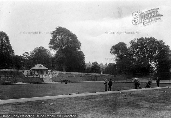 Bath, Victoria Park Bowling Green 1923