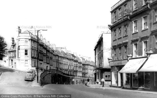 Bath, Walcot Parade c.1965