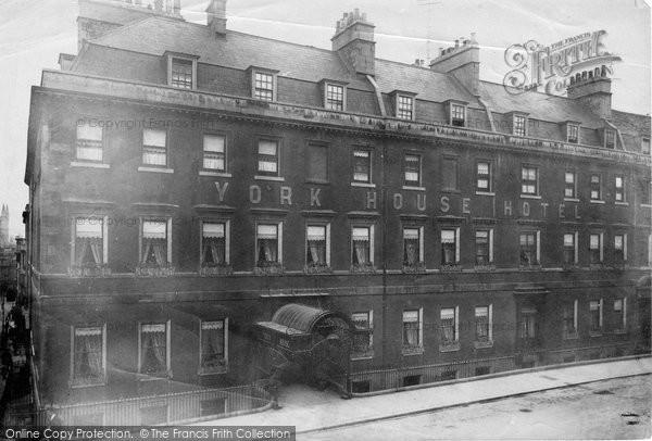 Bath, York House Hotel 1902
