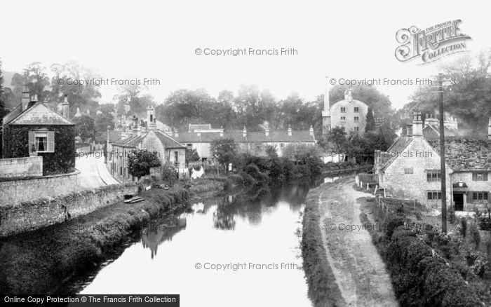 Bathampton, The Canal And George Inn 1907