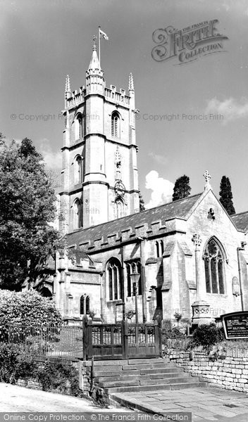 Batheaston, St John The Baptist With St Catherine's The Parish Church c.1960