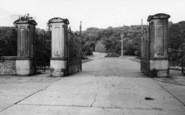 Batley, The Entrance, Wilton Park c.1965