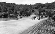 Batley, Wilton Park Entrance c.1955