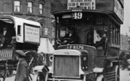 Battersea, Motor Bus c.1915