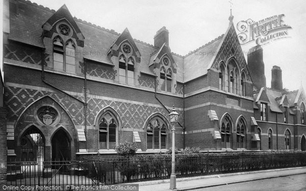Battersea, Sir Walter St John's School 1899