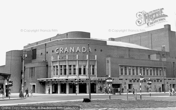 Photo of Battersea, St John's Hill, the Granada Cinema c1955