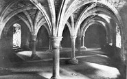 Battle, Abbey, The Crypt 1910