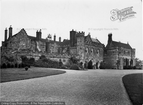 Battle, Abbey West Front 1927