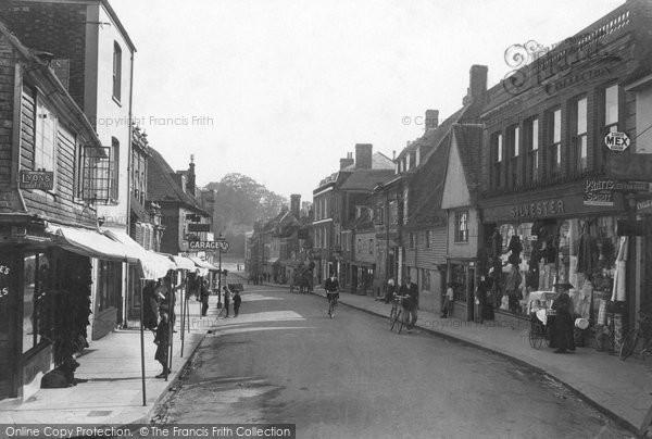 Battle, High Street 1910